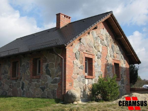 Cegielnia CERAMSUS - Realizacje - Elewacja - Dom prywatny
