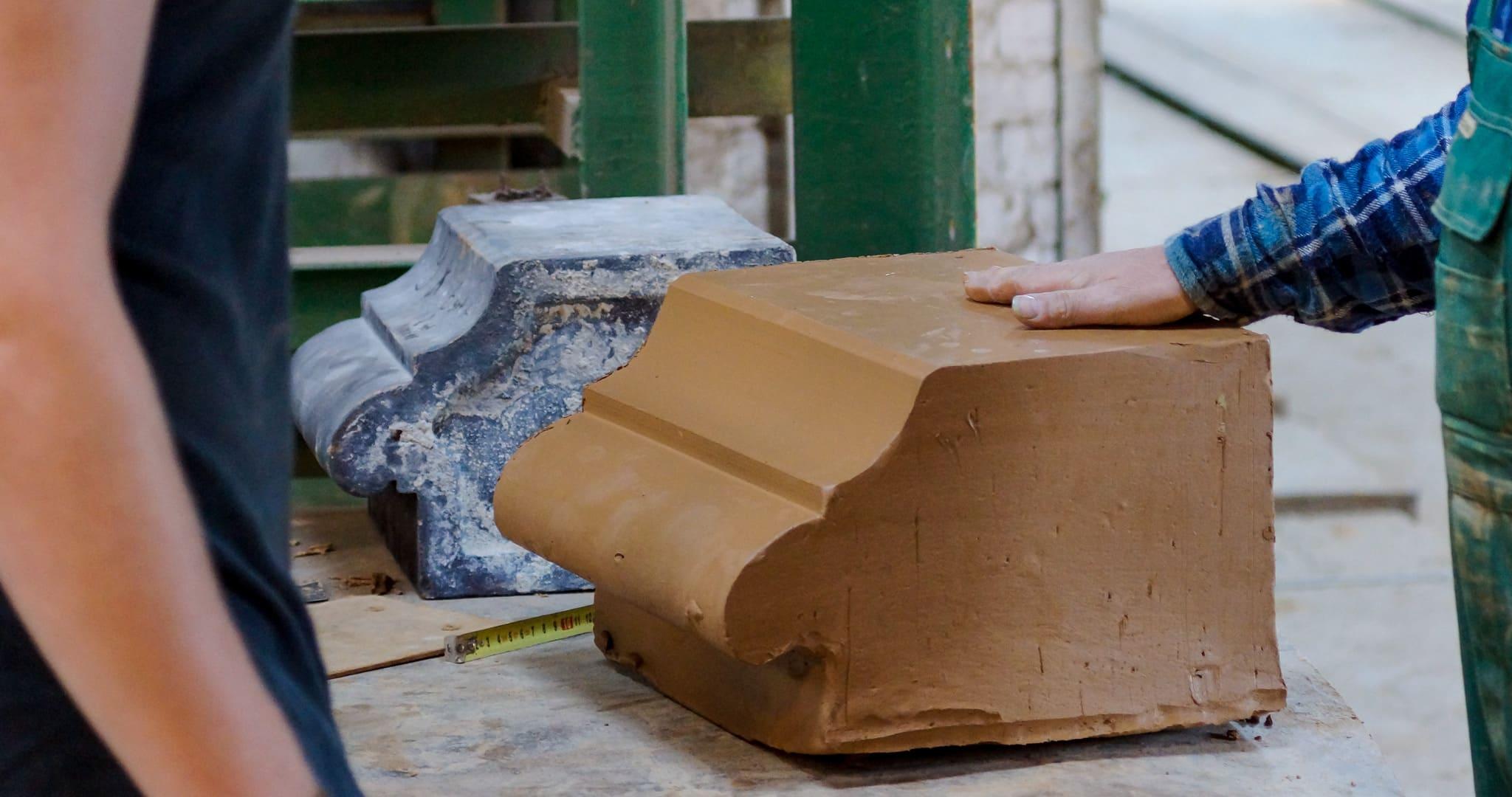 Ceramika do renowacji i konserwacji zabytków