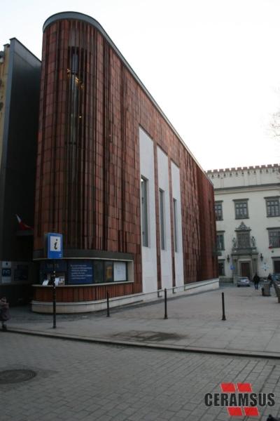 Cegielnia CERAMSUS - Realizacje - Pawilon WYSPIAŃSKI w Krakowie